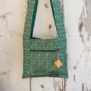 Monk Bag, Swirl, Green